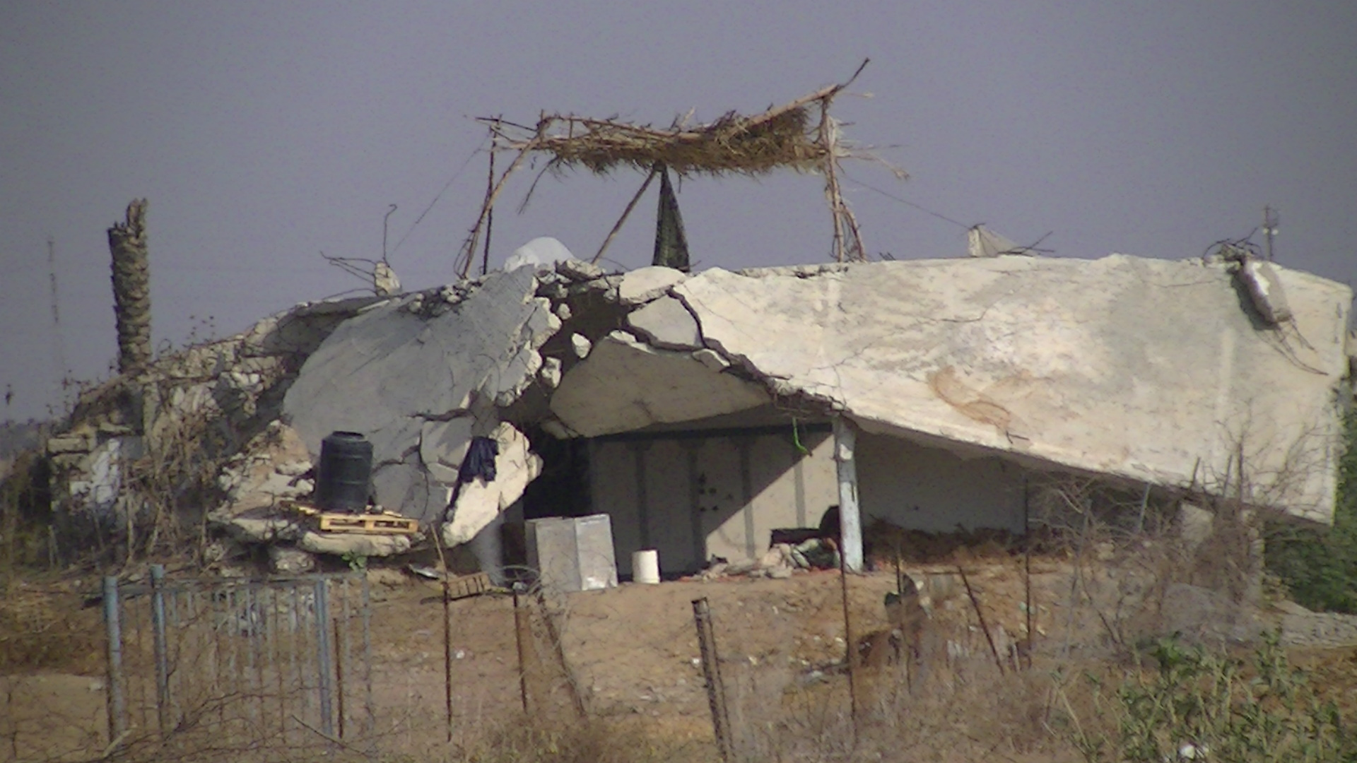House in Beit Hanoun - destroyed by an airstrike in 2006