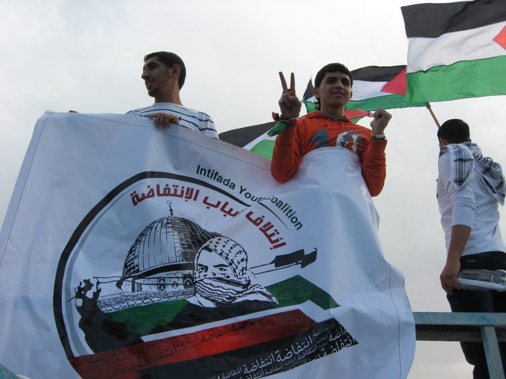 Intifada Youth Coalition - Sumud Flotilla - 2/12/13