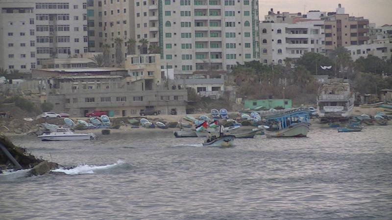 Returning safely to El Mena - Sumud Flotilla - 2/12/13