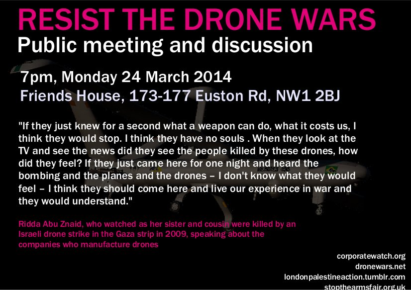 Resist the drone wars page 1