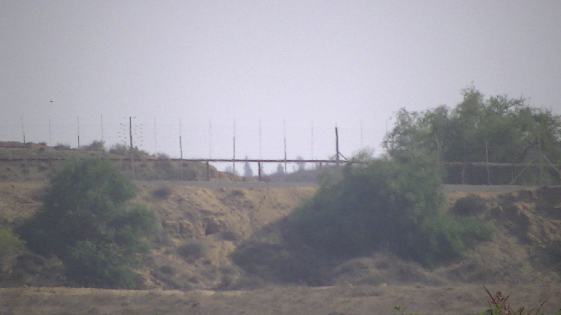 The Israeli border fence in Beit Hanoun - Picture taken by Corporate Watch, November 2013