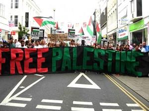 Brighton demo for Gaza
