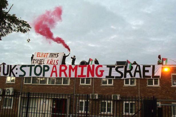 Elbit occupation photo 2