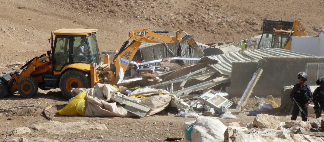 Resistance to demolitions in the South Hebron Hills