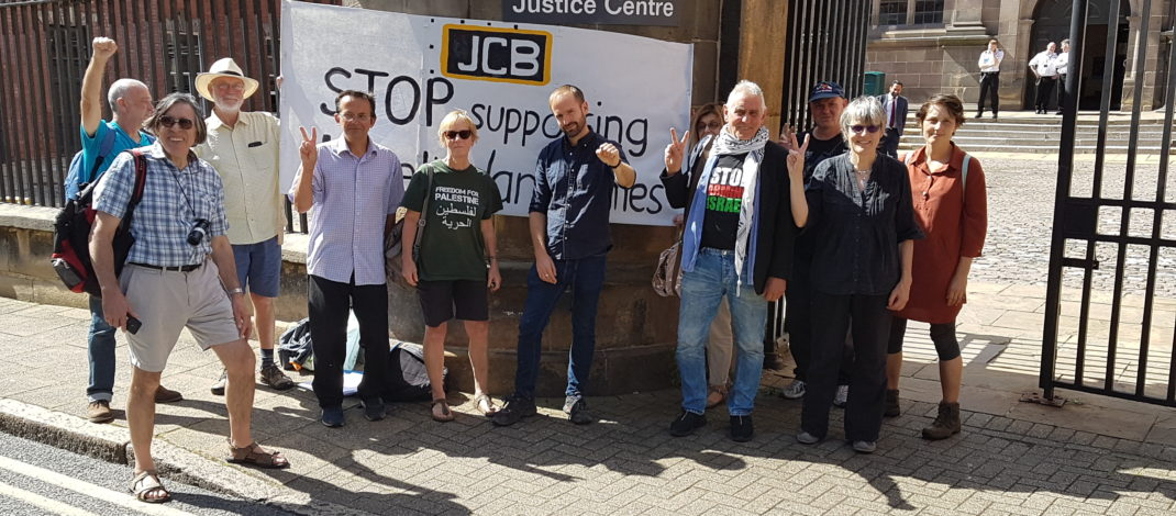 Stop the demolitions statement – Protesters defiant after court finds them guilty in first #JCB5 court case